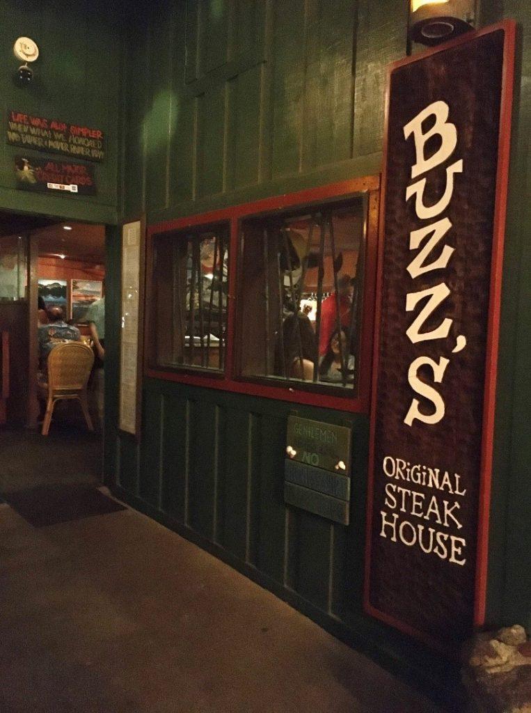 Buzz`s Original Steak House in Kailua;