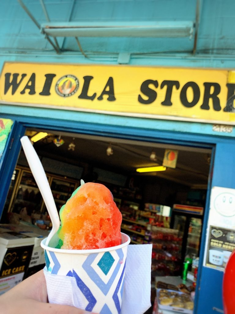 Waiola Shave Ice;